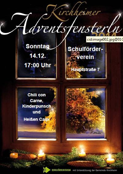 Adventsfenster sfv 2014