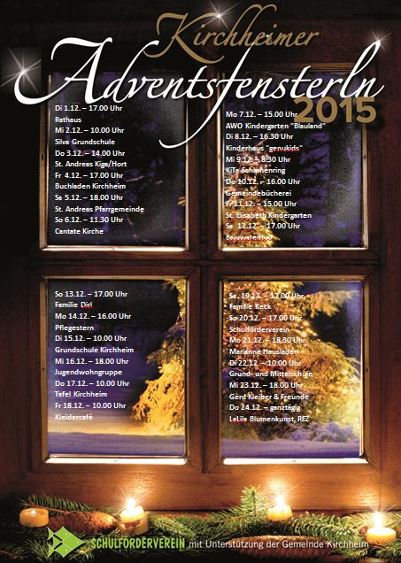 Adventsfensterl 2015